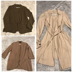 Forever 21 jacket bundle